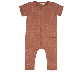 One pocket jumpsuit - burnt clay - Phil & Phae