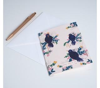 Card all the birds