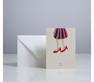 Card souliers maman - Season Paper collection