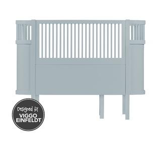 The Sebra bed, baby & jr., cloud blue - birch wood - Sebra