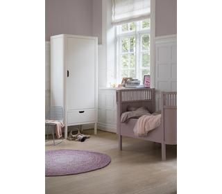 The Sebra bed, baby & jr., vintage rose - birch wood - Sebra