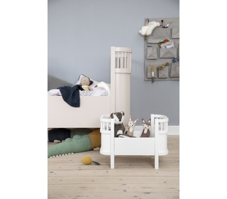 The Sebra bed, baby & jr., Birchbark beige - Sebra