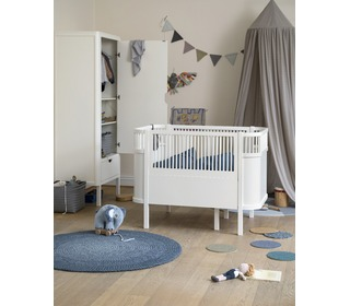 The Sebra bed, baby & jr., Classic white - Sebra