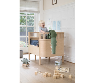 The Sebra bed, baby & jr., Wooden Edition - Sebra