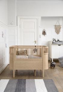 *... SEBRA ...* The Sebra bed, baby & jr., Wooden Edition