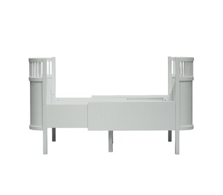 The Sebra bed, baby & jr., Mist green - Sebra