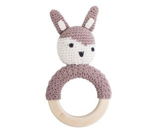 rammelaar konijn ring Midnight plum - Sebra