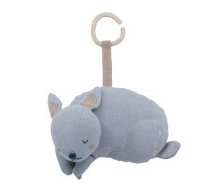 Musical pull toy - bluebell the bunny, dreamy lavender - Sebra