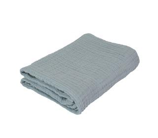 Baby blanket, mist blue - Sebra
