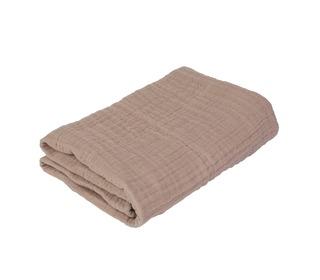 Baby blanket, powder rose - Sebra