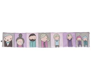 fabric book Village girls | Sebra