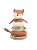 Stacking & tilting fox, Sarky, fox tail red