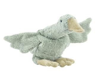 Cuddly animal goose small - grey - Senger Naturwelt