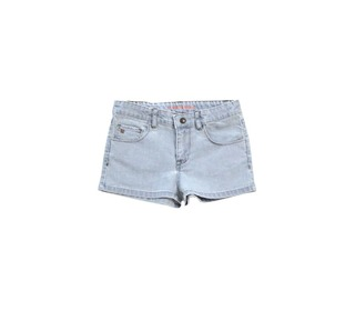 bleached jean short   Tinycottons