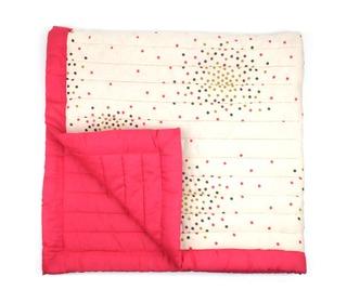 plaid vanilla pink stardust - april showers by polder