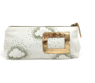 etui Malik Sky khaki/offwhite  - april showers by polder